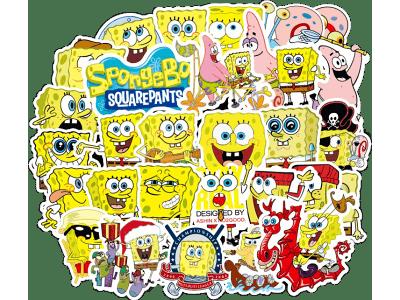 Komplet nalepk risanih junakov za otroke - 100 kosov - Super kvaliteta, Brezplačna dostava