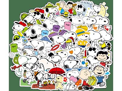 Komplet nalepnica ZabaVnih crtanih junaka - 100 komada - Super kvalitet, Besplatna poštarina
