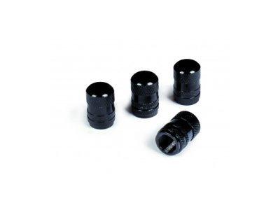 Komplet okrasnih pokrovčkov za vijake platišča 15102BLACK B, črni