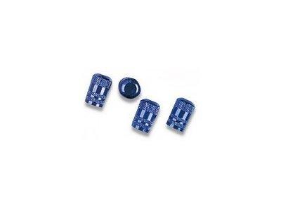 Komplet okrasnih pokrovčkov za vijake platišča 27516, modri