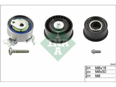 Komplet stezača/zatezača zupčastog remena 530007809 - Opel Zafira 99-05