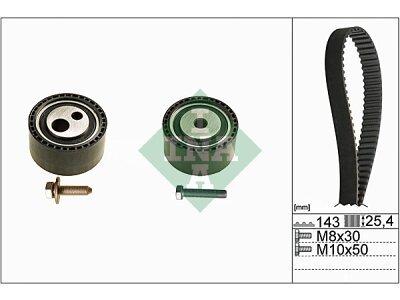 Komplet stezača zupčastog remena 530044710 - Peugeot Boxer 94-06