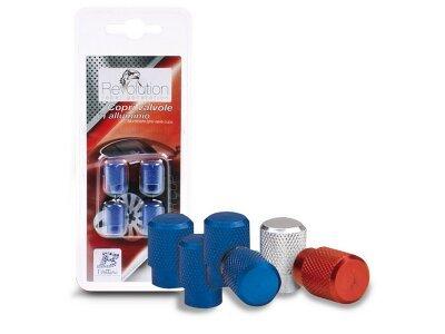 Komplet ukrasnih poklopca za vijke kotača 15100, plava
