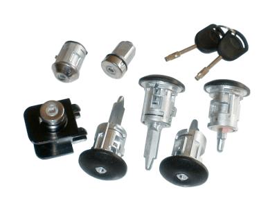 Komplet vložkov ključavnic Ford Transit 00-06 + ključi