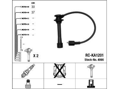 Komplet vžigalnih kablov za svečke Kia Carens 99-02