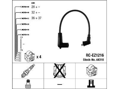 Komplet vžigalnih kablov za svečke Mazda RX 8 03-