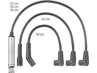 Komplet vžigalnih kablov za svečke Opel Kadett D 79-84