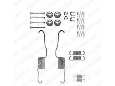 Komplet za obnovo zavornih čeljusti Renault Master 80-98, 0728