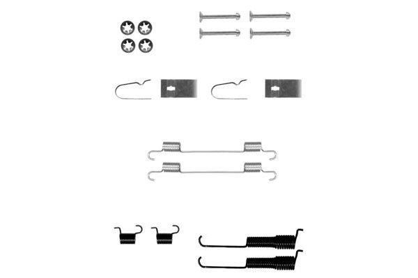 Komplet za obnovo zavornih čeljusti Suzuki Wagon R 97-00