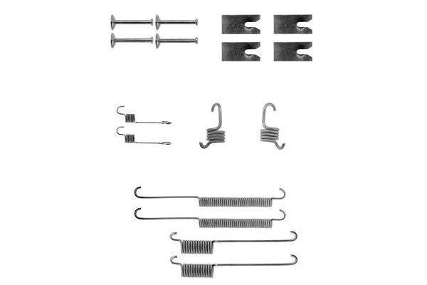 Komplet za obnovu kočionih čeljusti Ford Mondeo 93-00