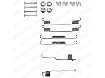 Komplet za obnovu kočionih čeljusti Peugeot 106 91-03