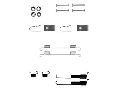 Komplet za obnovu kočionih čeljusti Suzuki Wagon R 97-00