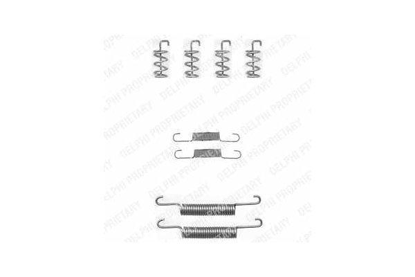 Komplet za obnovu kočionih čeljusti Volvo S60 00-09