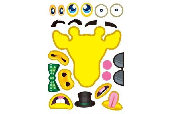 Komplet zabavnih interaktivnih nalepnica - 4 komada - Odličan kvalitet, Besplatna dostava