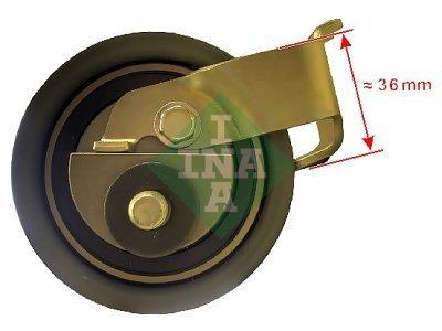 Komplet zubatog remena (napinjač) 531050020 - Seat Ibiza 93-02