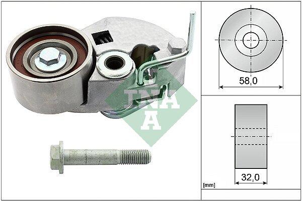 Komplet zubatog remena (napinjač) 531082510 - Audi A1 10-15