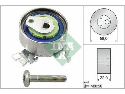 Komplet zupčastog kaiša (zatezač) 531051830 - Opel Corsa 93-06