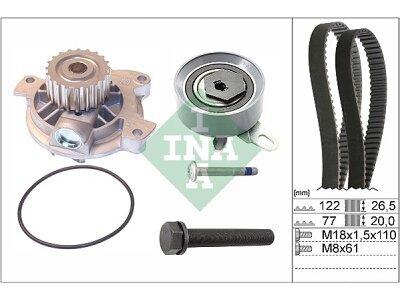 Komplet zupčastog remena (+ Vodena pumpa) 530040630 - Volkswagen Transporter 90-03