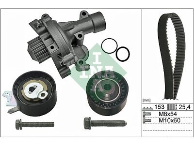 Komplet zupčastog remena (+ Vodena pumpa) 530047130 - Peugeot Expert 07-16