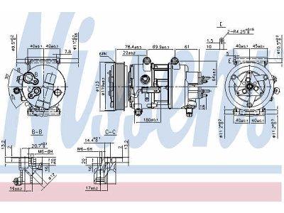 Kompresor klime 89201 - Peugeot Partner 08-12