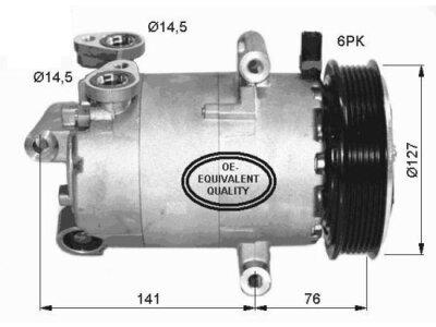 Kompresor klime Citroen Jumper 06-14