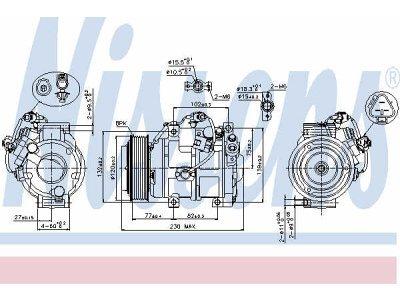 Kompresor klime Ford, Volvo