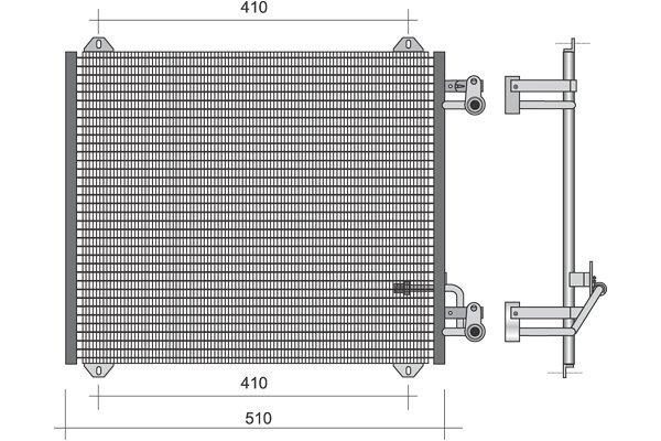 Kondenzator  Audi A2 00-05