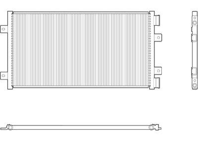 Kondenzator  Fiat Punto 99-03 1.2 Valeo TIP