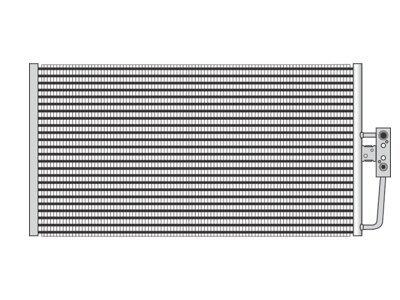 Kondenzator klime 2016K83K - BMW Serije 5 96-04