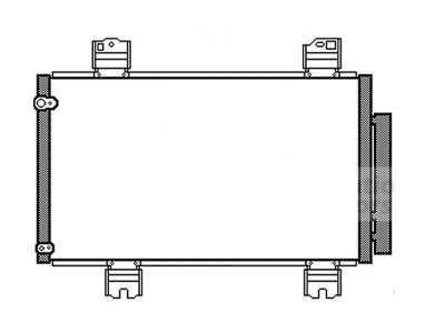 Kondenzator klime 3836K8C3S - Honda Accord 08-