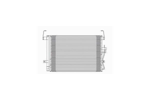Kondenzator klime 4012K8C1S - Hyundai Elantra 00-06