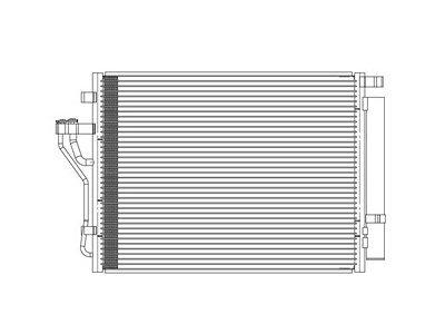 Kondenzator klime 4048K8C3S - Hyundai ix35 10-