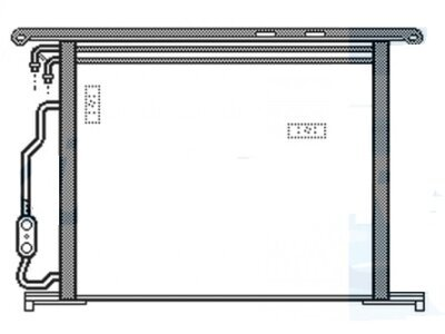 Kondenzator klime 5025K81X - Mercedes Razred CL 99-06