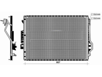 Kondenzator klime 5031K8C1S - Mercedes-Benz Razred CL (C216) 06-14