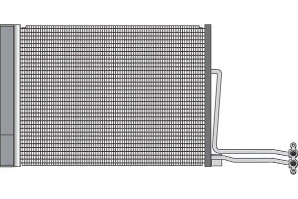 Kondenzator klime 5101K82X - Mini Cooper 01-06