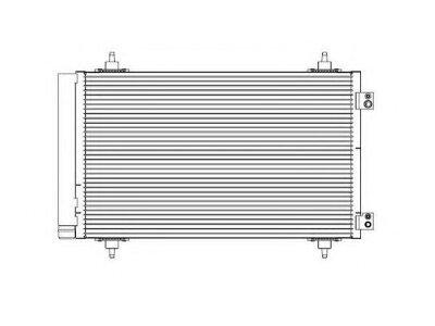 Kondenzator klime 5780K82X - Citroen CR Picasso 06-13