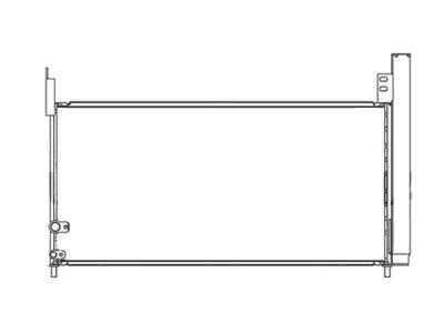 Kondenzator klime 8162K8C2S - Lexus CT 11-