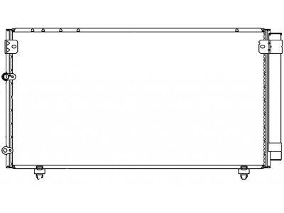Kondenzator klime 8187K81K - Toyota Avensis Verso 01-09