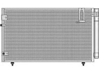 Kondenzator klime 8187K8C1 - Toyota Avensis Verso 01-09