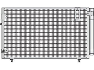 Kondenzator klime 8187K8C1S - Toyota Avensis Verso 01-09