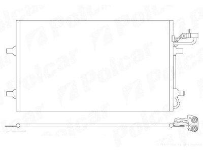 Kondenzator klime 9042K83X - Volvo C30 06-13