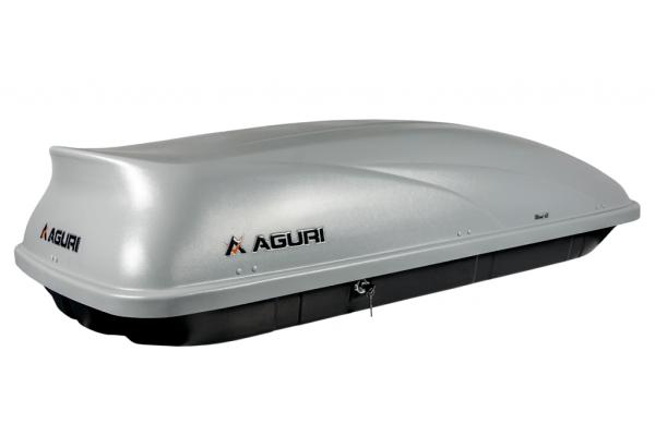 Krovni kofer Aguri Wind 43 (srebrna boja)