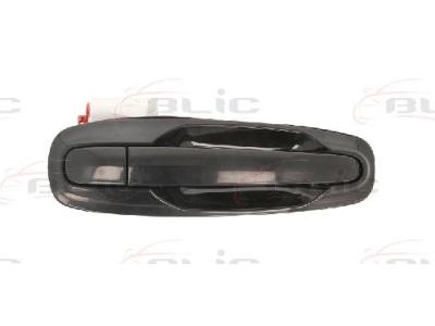 Kvaka (vanjska) Chevrolet Lacetti 03-, crna, natrag