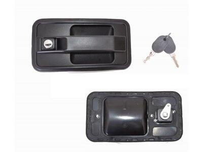 Kvaka (vanjska) Citroen C25 81-94, Sa ključevima, naprijed, lijevo