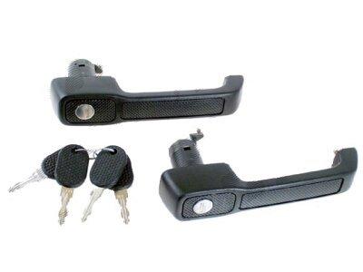 Kvaka vrata (vanjska) + cilindar + ključevi Fiat Uno 89-