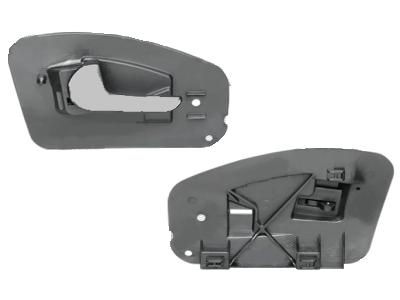Kvaka za vrata (unutarnja) Opel Corsa 00-10 stražnja, kromirana