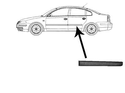 Lajsna vrata (stražnja) VW Passat 97-00