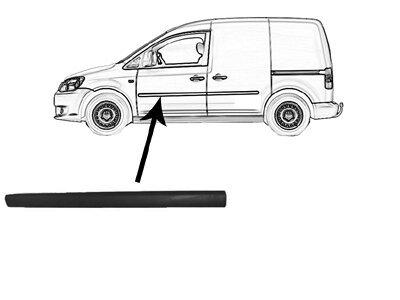 Lajsna vrata VW Caddy 04-10 crna