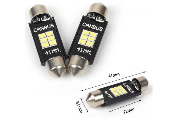 LED sijalice 10-16V, 6xSMD, 210Lm, CANBUS, 2 komada, 12 mesečna garancija, PREMIUM
