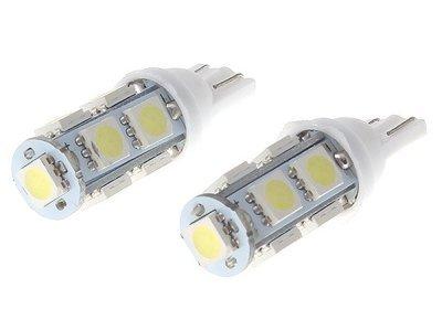 LED sijalice 12V, 9xSMD, bela, 2 komada